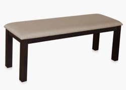 Brown Wooden Dining Bench, L
