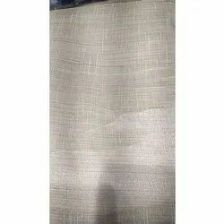 Polyester Casual Wear Poly Silk Plain Fabric, For Clothing, GSM: 100