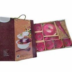 Pink Melamine Crockery Set