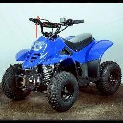 80cc Junior atv blue color