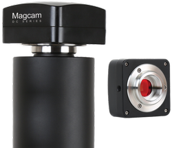 MAGCAM DC-5 CMOS Camera for MLXi & MX Series with 0.5x adopter