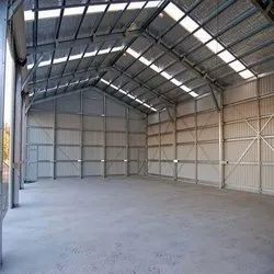 Steel Pre Fabricated Warehouses, For industrial