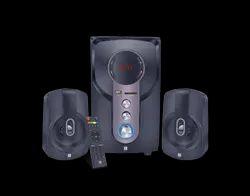 Black Iball Bluetooth Speaker 2.1 Hi-Basss