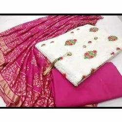 35 Inch Embroidery Work Exclusive Ladies Unstitched Suit