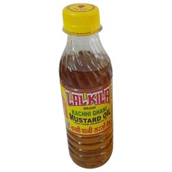 200 Ml Lalkila Kachi Ghani Mustard Oil