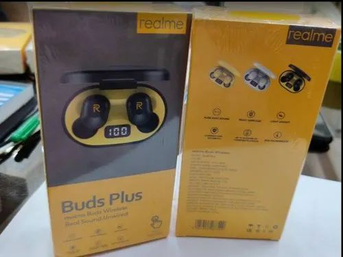 Buds Plus Realme Wireless Real Sound Unwired