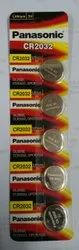 CR 2032 Panasonic Lithium Coin Battery
