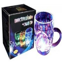Multicolor Printed Magic Glass, For Showcase, Thickness: 6 Mm