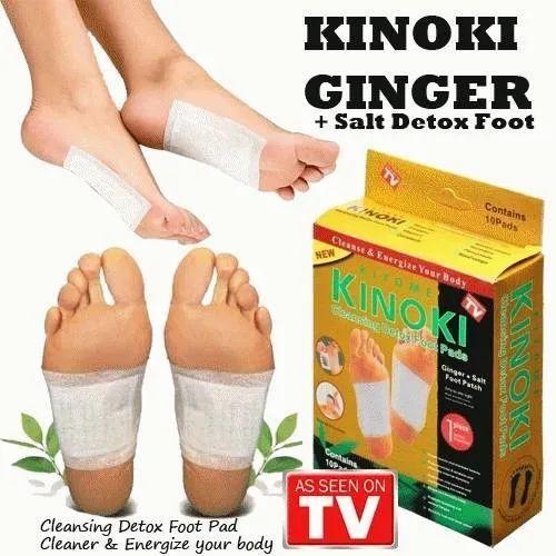 Kinoki Ginger Salt Detox Foot