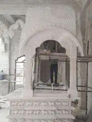 White Marble Palki Saheb