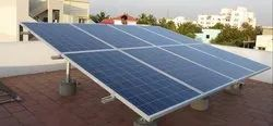 Grid Tie Roof Top Solar Power Plant Installation, For Industrial