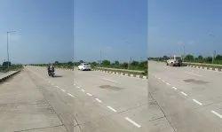 Center Line Commercial Land use on highway raipur Bilaspur Six Lane 3.2 Acres, For None, Simga, Chhattisgarh
