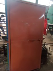 Standard Brown Iron Bedroom Door for Home, Type Of Door: Single