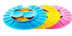 Pink, Blue Eva Material shower cap, For Reusable