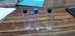 Transparent Bottle with 15 Ml Fliptop