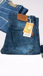 Denim Comfort Fit Brand Mens Jeans, Waist Size: 30