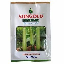 Vipul F1 Hybrid Bottle Gourd Seeds, Packaging Size: 25 Gm