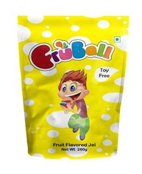Red Fruball Cup Jelly