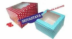 ITC 1 Cupcake Polka Dots Window Boxes