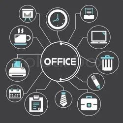 Offline OFFICE MANAGEMENT SOFTWARE, For Windows, Free Demo/Trial Available
