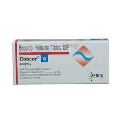 Concor 5 Tablet, Bisoprolol (5mg)