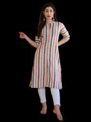 女性纯净纯棉直的库尔塔