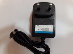 Black Plastic 12V Adapter