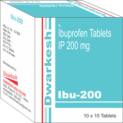 Ibuprofen Tablets IP 200 mg