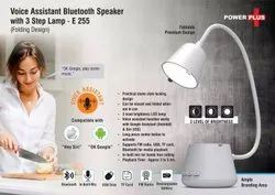 Voice Assistant Bluetooth Speaker With 3 Step Lamp