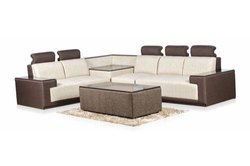 Herlich Planet Wooden Corner Sofa Sets, For Living Room