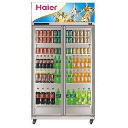 Haier HVC-710G Double Door Glass Visi Cooler