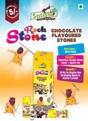 Chocolate Colorfull Rock Stone Candy, Packaging Type: Box