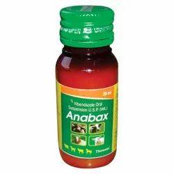 Albendazole Anabax Liquid, Packaging Size: 30 Ml, Prescription