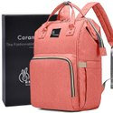 R For Rabbit Caramello Diaper Bag For Mother Waterproof Maternity Bag (pink)