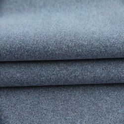 Grey Nylon Melange Knitted Fabric, For Garments, GSM: 190