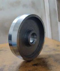 180x50   C I Hand pallet trolly wheel