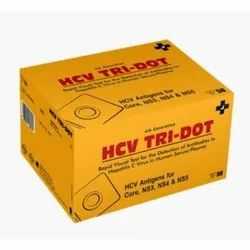 HCV Tri-Dot Test Pack (J.Mithra), For Hospital