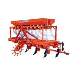 Mild Steel Bull Agro Seed Drill Master, For Agriculture
