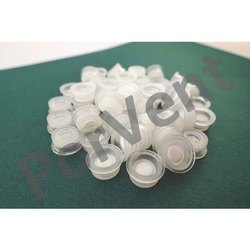 White PTFE Vented Plug