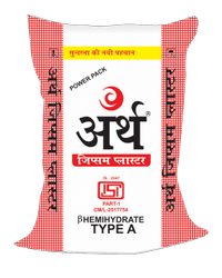 White Earth Gypsum Plaster, Packaging Type: Sack Bag, Packaging Size: 25 Kg