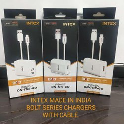 Intex 2A Mobile USB High Speed Charger