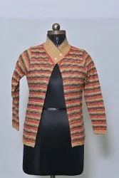 614 Woolen Ladies Cardigan