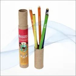 Plain Wood Plantable Seed Pencils Box, For Writing