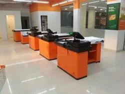 Check Out Cash Counter