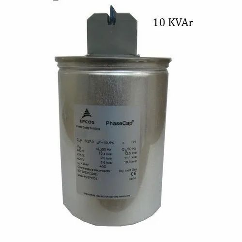 Epcos 10 Kvar Phase Cap Round Energy Heavy Duty Gas Filled Rs 1550 Piece Id 22630135973