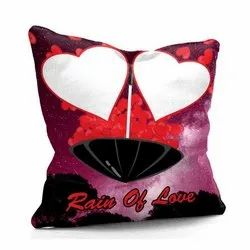Heart Printed Cushion