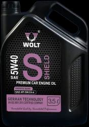 Motor car engine oil