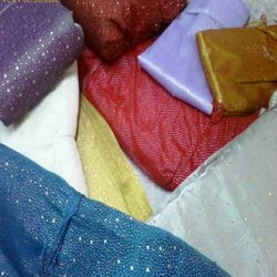Non Stitched Multicolor Dew Drop Fabric