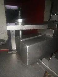 Galvanized Silver Press Die Holding Fixture