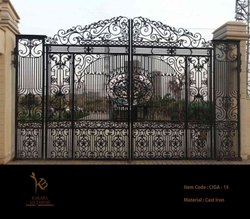 Antique Victoria Cast Iron Gates